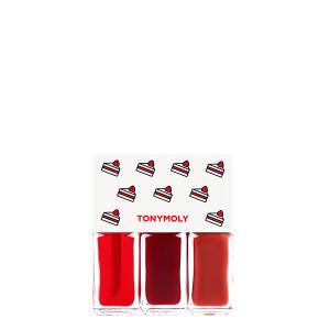 TONYMOLY Lip Tone Get It Tint Mini Trio (Holiday Edition) 4g*3ea