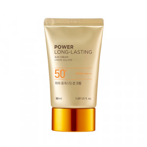 The Face Shop New Power Long Lasting Sun Cream SPF50+ PA+++ 50ml