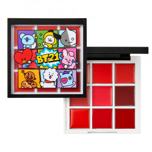 VT [VTxBT21] Art In Lip Palette 1g*9