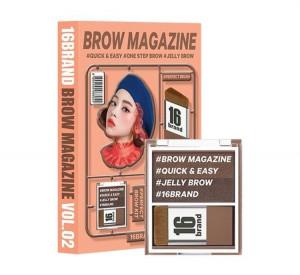 16brand Brow Magazin 3.4g