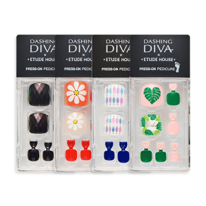 Etude House Magic Press Pedicure 1 set (x Dashing Diva)