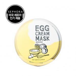 Too Cool For School Egg Cream Mask Set 28g*10ea