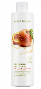 Nature Republic Fresh Herb Body Lotion Peach Blossom 300ml