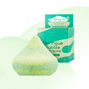APIEU Meringue Bubble Bath Bomb [Green Tea Walk] 100g