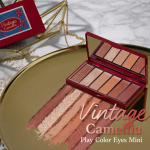 Etude House Play Color Eyes Mini #Vintage Camelia  0.9g*6colors