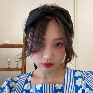 [R] Rowky ribbon hair band 1pcs
