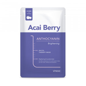 Vprove Phyto Therapy Mask Sheet - Acai Berry 5pcs