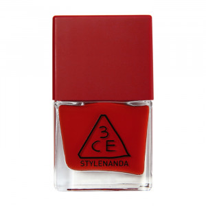 STYLENANDA 3CE Red Recipe Long Lasting Nail Lacquer #RD09 9ml