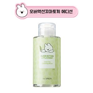 The Saem [Over Action Little Rabbit Edition] Healing Tea Garden Cleansing Water 400ml