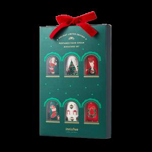 Innisfree [2018 Green Christmas] Perfumed Handcream Miniature Set 20ml*6ea