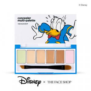 [E] The Face Shop Concealer Multi Palette [Disney Donald Duck] 0.9 *6