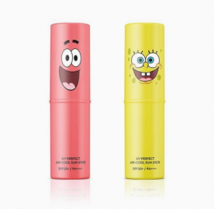 SNP [Sponge Bob Edition] UV Perfect Air Cool Sun Stick Sponge Bob Set SPF50+ PA++++ 11g*2ea