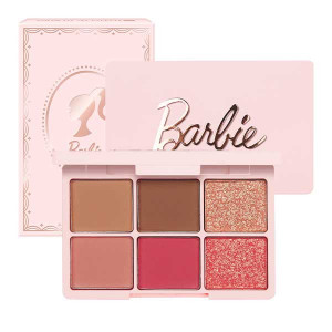 EGLIPS [Barbie] Color Fit Eye Palette (SIX) 8.8g