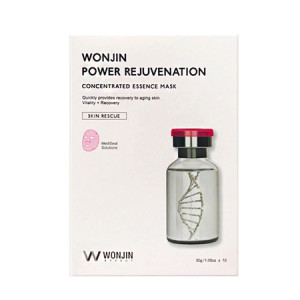Wonjin Power Rejuvenation Concentrated Essence Mask 30g*10ea