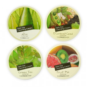 [C] The Face Shop Herb Day Cleansing Cream 150ml