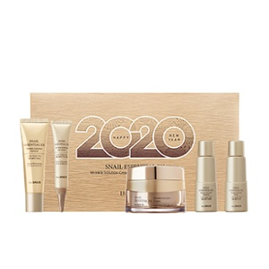 The Saem [2020 New Year Limited Edition] Snail Essential EX Wrinkle Solution Cream Special Set