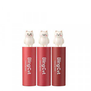 TONYMOLY [Bling Cat] Cotton Lipstick 3.4g