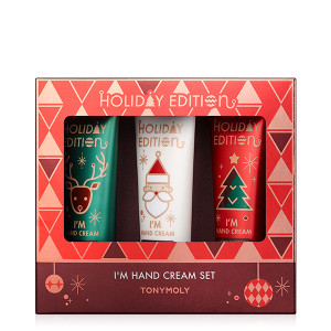 TONYMOLY [Holiday Edition] I'm Hand Cream Special Set 30ml*3ea
