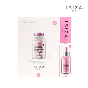 IBIZA SPA Multi Vitamins Elasticity Solution Mask + Ampule