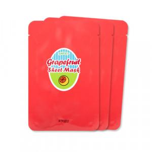 APIEU Grapefruit & Sparkling Sheet Mask 23g*3ea