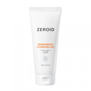 Dermartlogy Zeroid Dermanewal Cleansing Gel 200ml