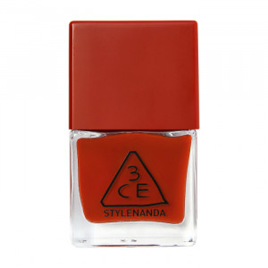 STYLENANDA 3CE Red Recipe Long Lasting Nail Lacquer #RD08 9ml