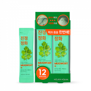 HolikaHolika Pure Essence Mugwort Bubble Cleansing Pack 5g*12ea