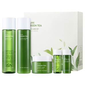 Nature Republic Pure Green Tea Skin Care Set