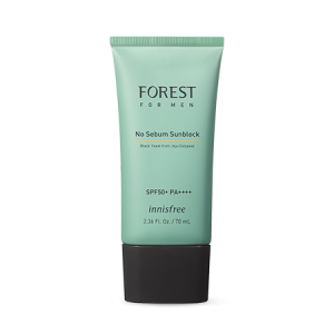 Innisfree Forest for Men No Sebum Sunblock SPF50+ PA++++ 70ml