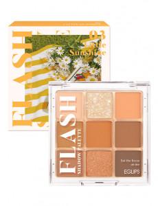 EGLIPS Flash Shadow Palette #03 Little Sunshine 0.7g*9
