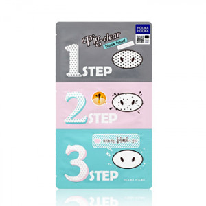 HolikaHolika Pig-Nose Clear Blackhead 3-Step Kit 1EA(7g)