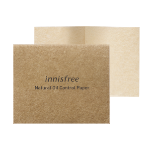 Innisfree Natural Oil Control Paper 1pack (50pcs)