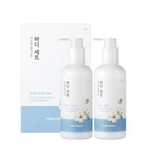 TONYMOLY The Natural Kind Milk Cotton Body Care Set 300ml*2